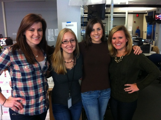 Spending Thanksgiving 2013 with some of my favorite FOX 7 girls.